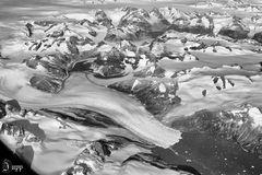 Der Überflug über Grönlands Südspitze