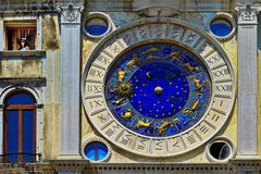 Der Uhrenturm von Venedig (Torre dell'Orologio)
