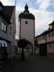 Der Uhrturm in Obernburg