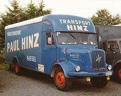 Der Umzugswagen von Henschel
