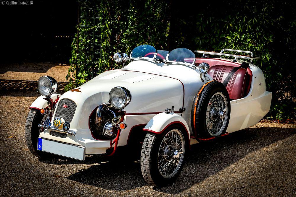 Der unbekannte Roadster bei den Classic Cars 2018 Schwetzingen