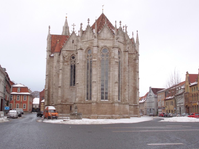 Der Untermarkt mit der Divi-Blasii-Kirche