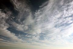 der Urlaub ging zur Neige und die Wolken kamen