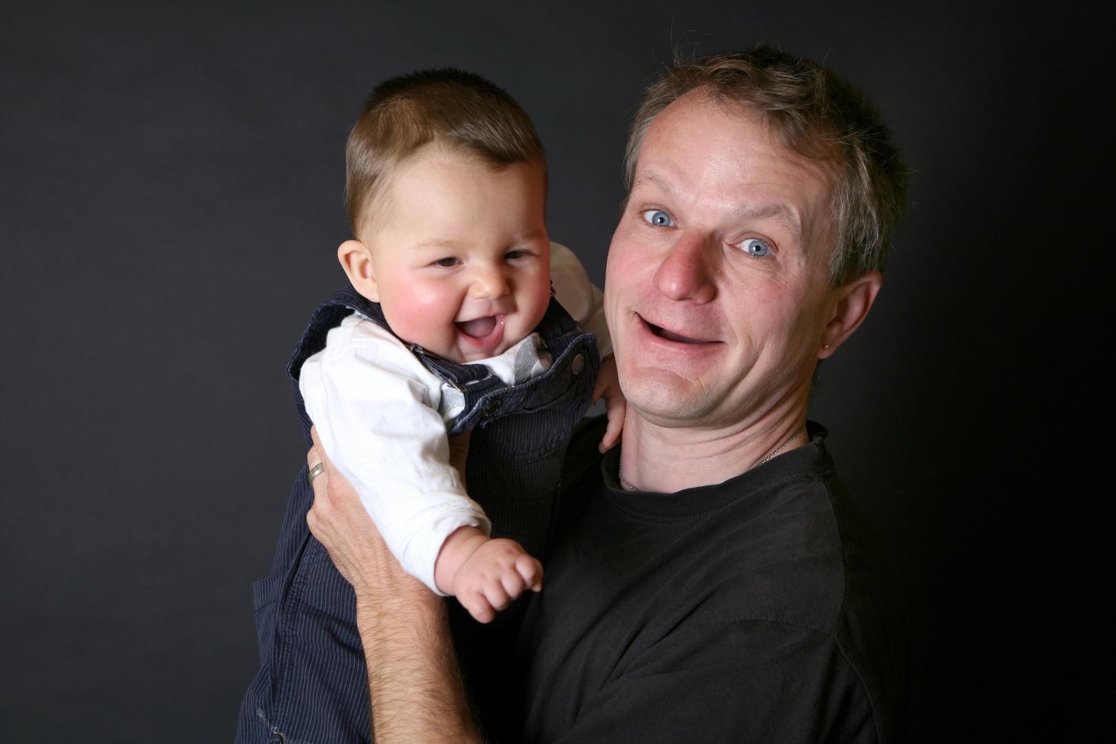 Der Vater mit dem Sohne