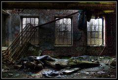 Der Verfall ... ehemalige Südzentrale Wilhelmshaven