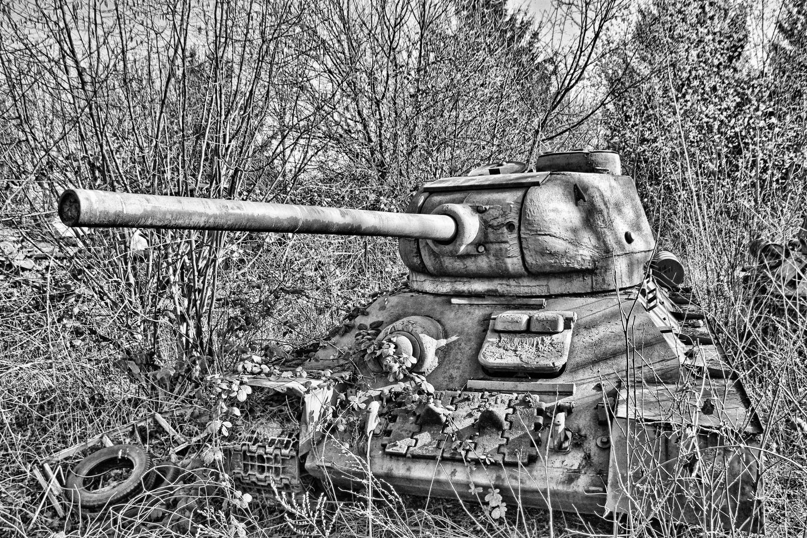 Der vergessene Panzer