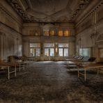 Der verlassene Saal