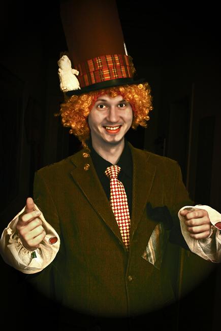 Der verrückte Hutmacher....oder so........