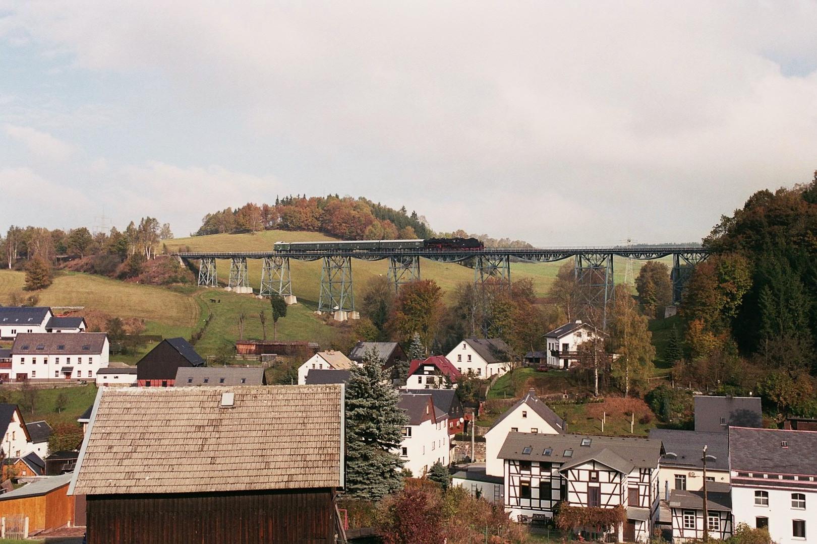 Der Viadukt von Markersbach