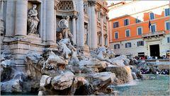 ... der vielleicht berühmteste Brunnen der Welt ...