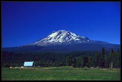 Der Vulkan Mount Adams