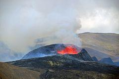 Der Vulkanausbruch am Fagradalsfjall