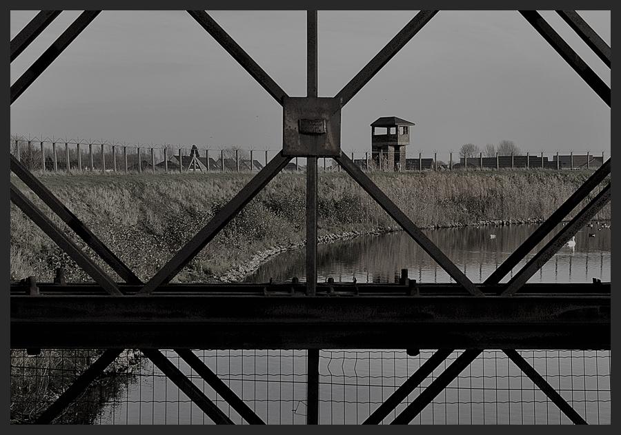 Der Wachturm von Breendonk