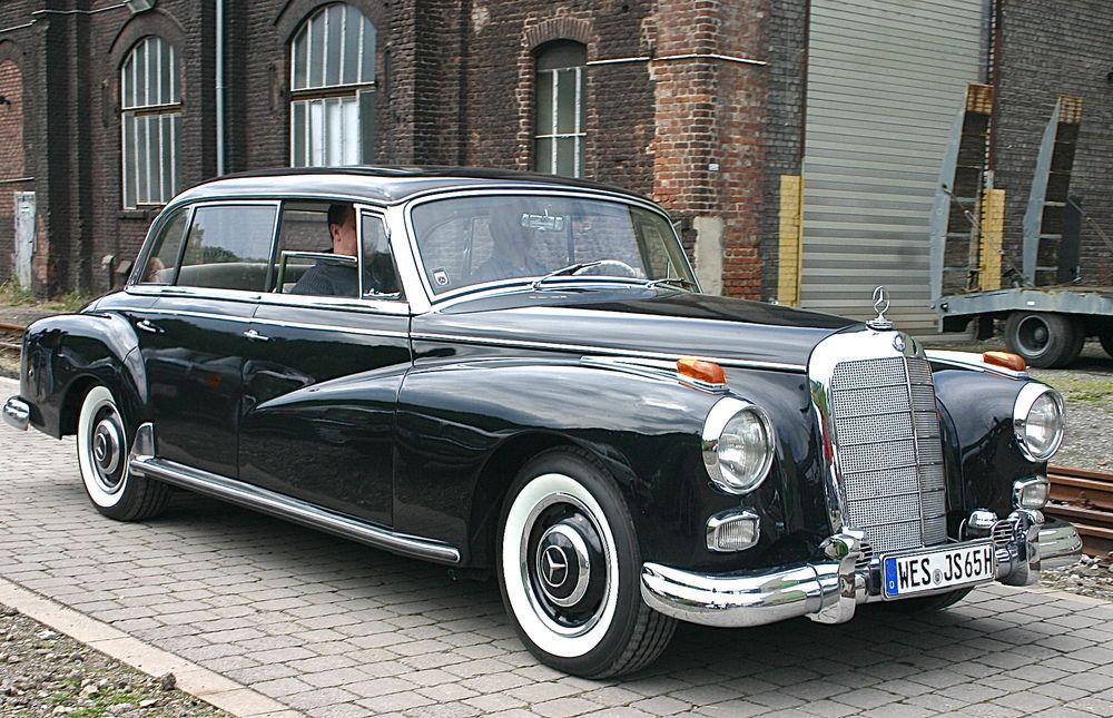 Der Wagen für den Generaldirektor