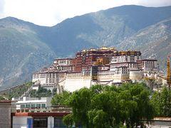 Der wahre Palast des Dalai Lama in Lhasa
