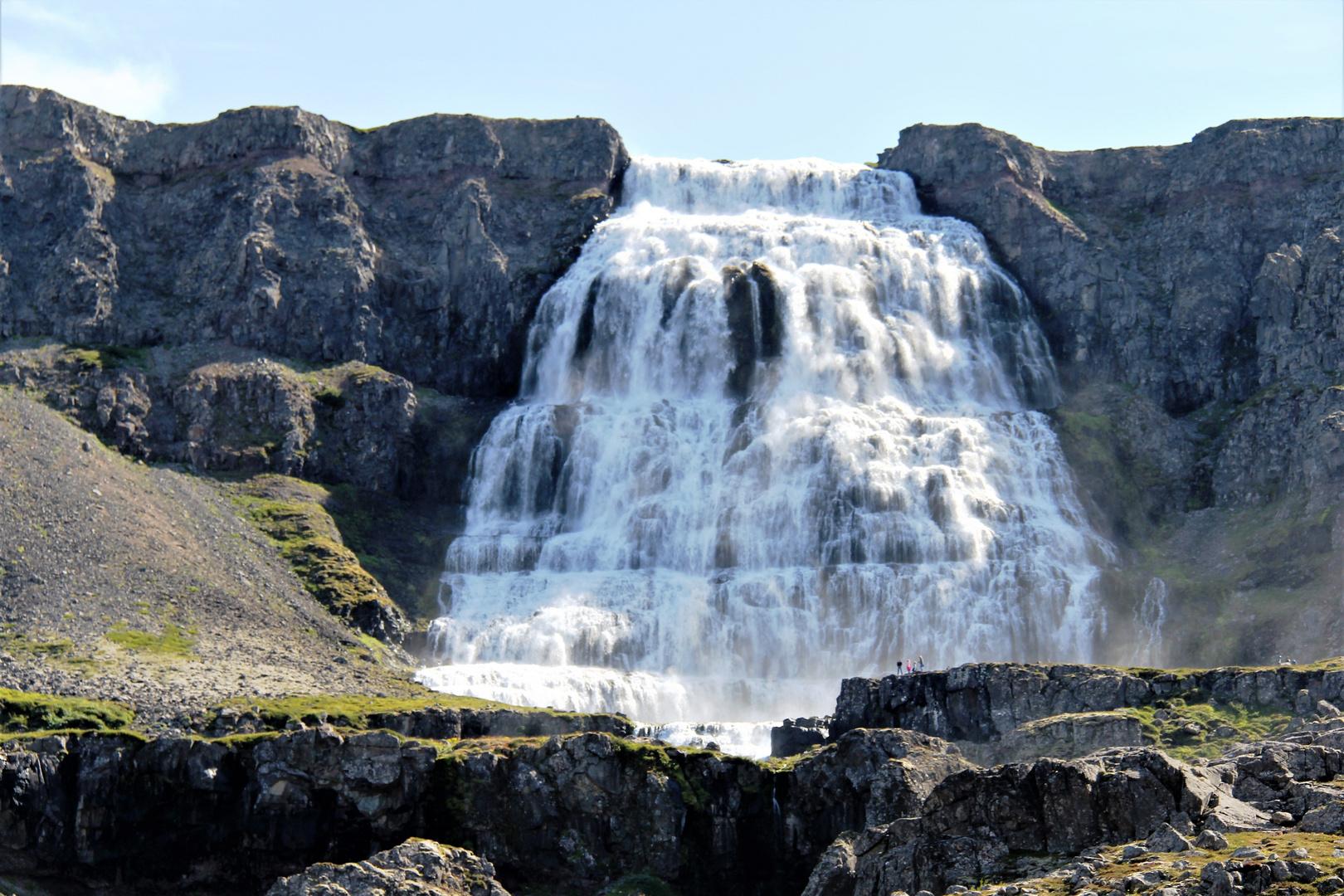 Der Wasserfall Dynjand
