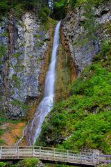 der Wasserfall in St. Christina