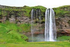 Der Wasserfall Seljalandsfoss I