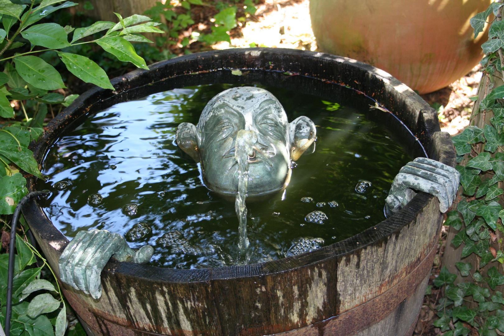 Der Wasserspucker aus Sankt Peter Ording