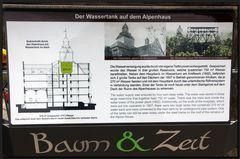 ...Der Wassertank auf dem Alpenhaus...