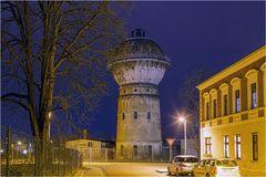 Der Wasserturm am Bahnhof Aschersleben