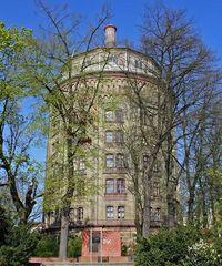 Der Wasserturm am Kollwitzplatz in Berlin