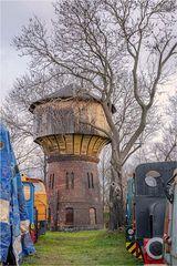 Der Wasserturm im Aw Aschersleben
