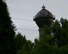 Der Wasserturm in Holz