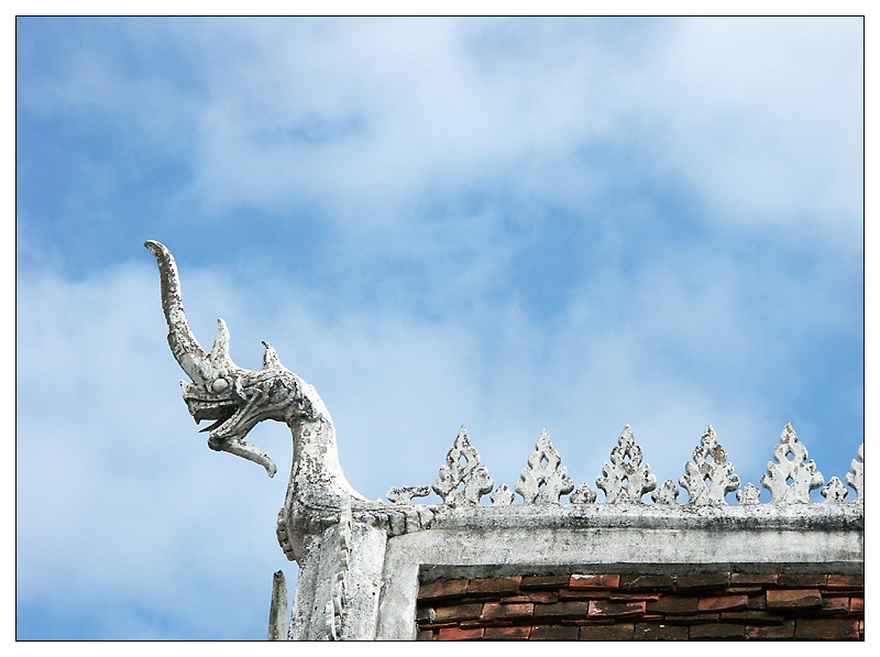Der Wat Chom Si - Luang Prabang, Laos