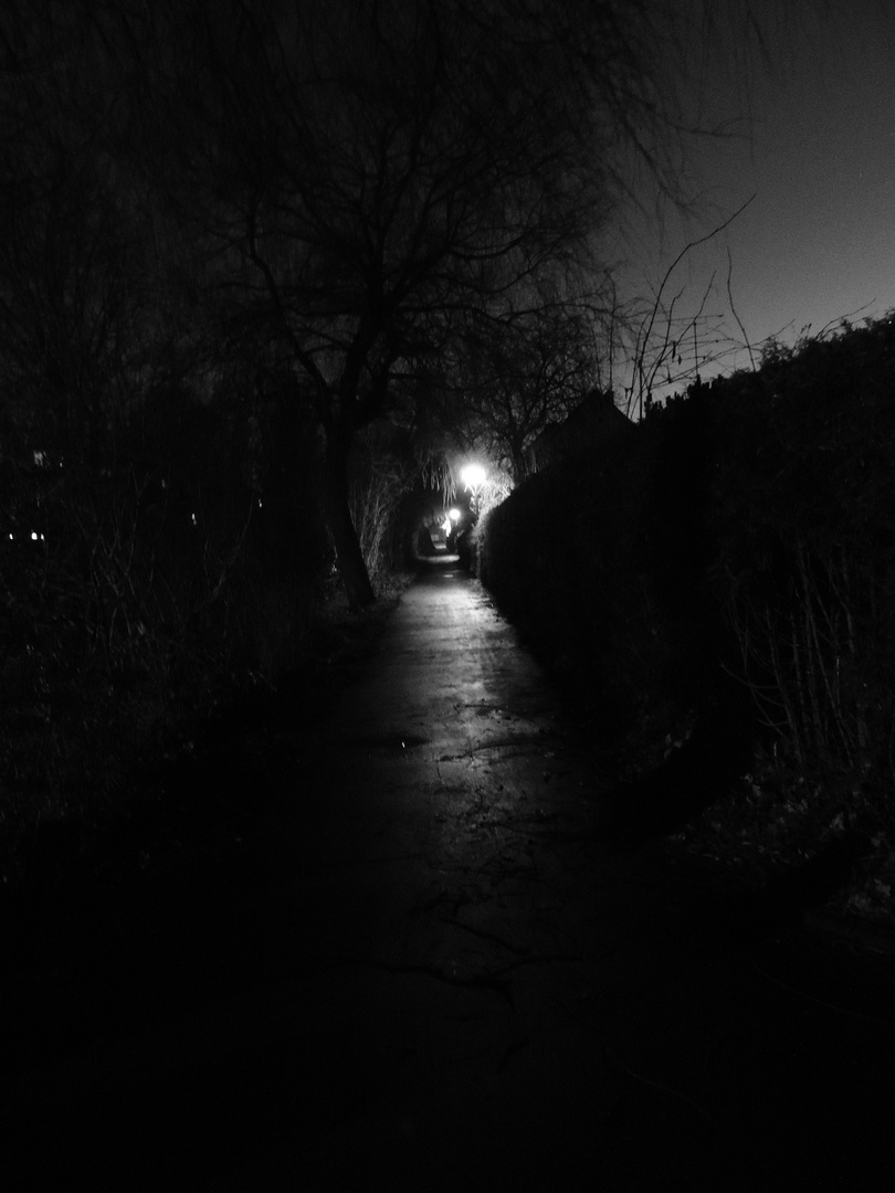 Der Weg der Angst....