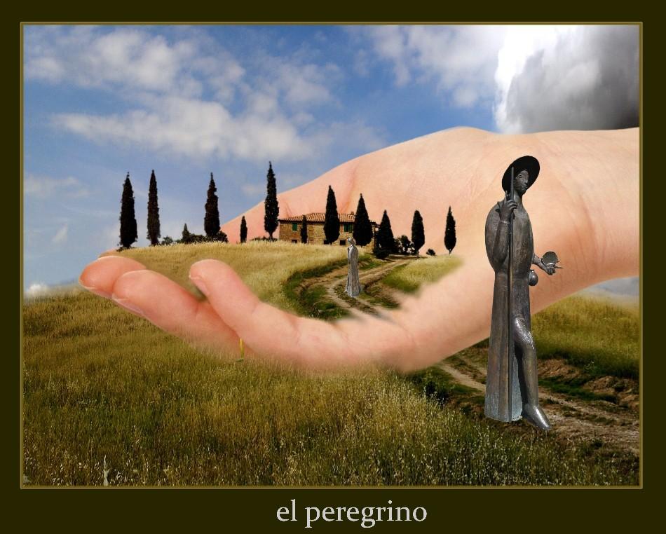 der Weg des Lebens, in eigener Hand.