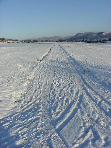 Der Weg im Winter (Es gibt kein Weg zurück)