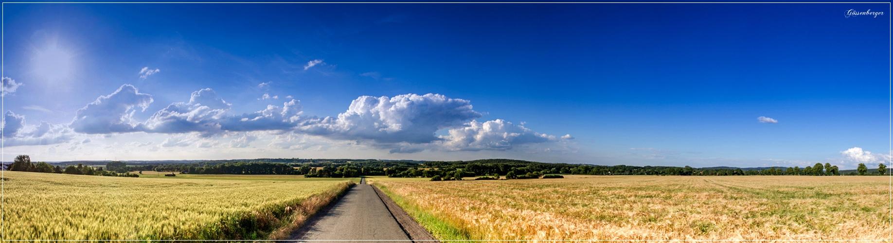 Der Weg in den Sommer ...