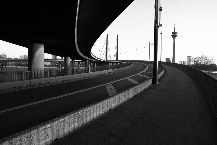 Der Weg in die Stadt
