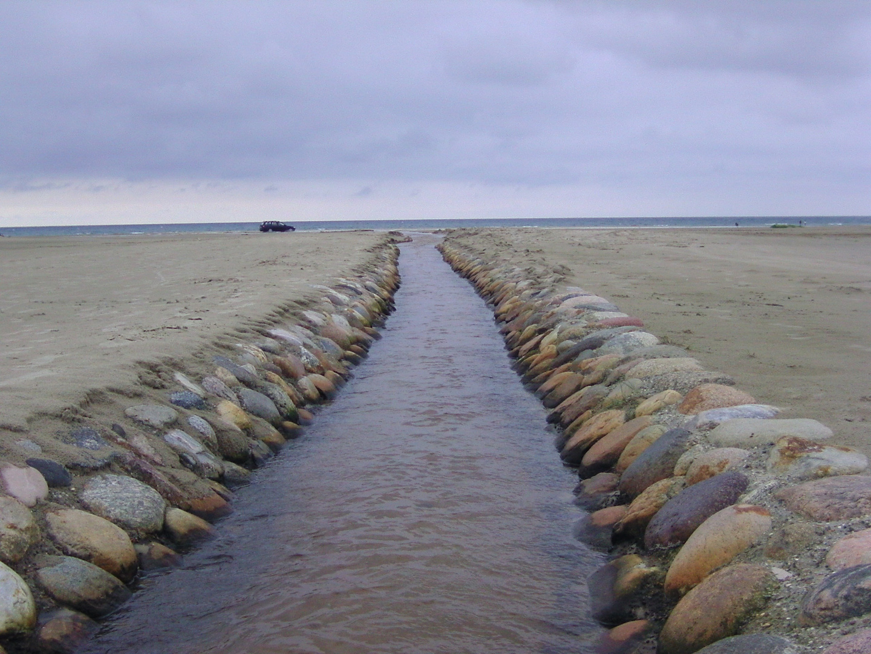 Der weg in Meer
