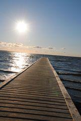 Der Weg ins Meer ...