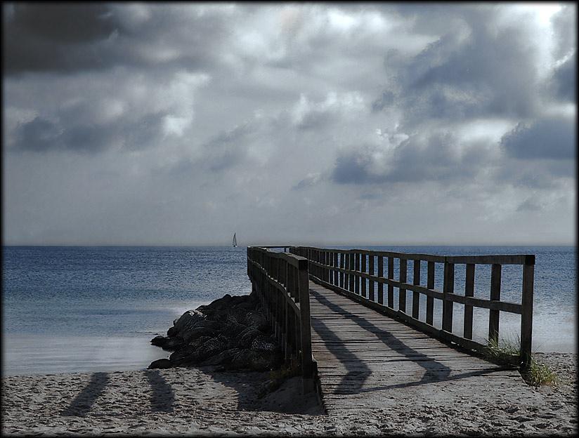 Der Weg ins Meer