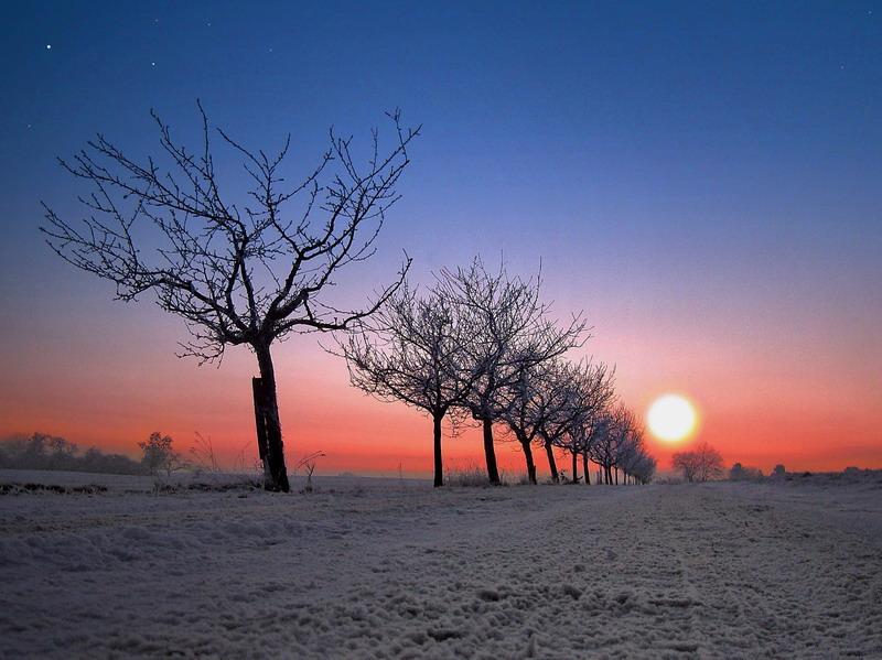 Der Weg ins Winterland