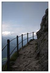 Der Weg nach oben..