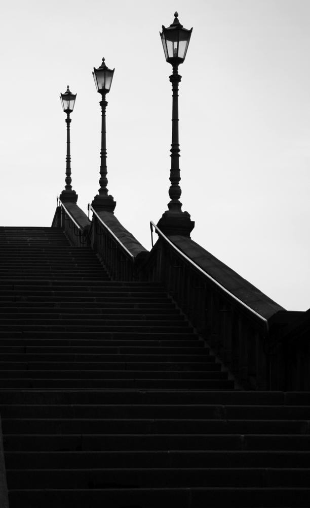 Der Weg nach oben...