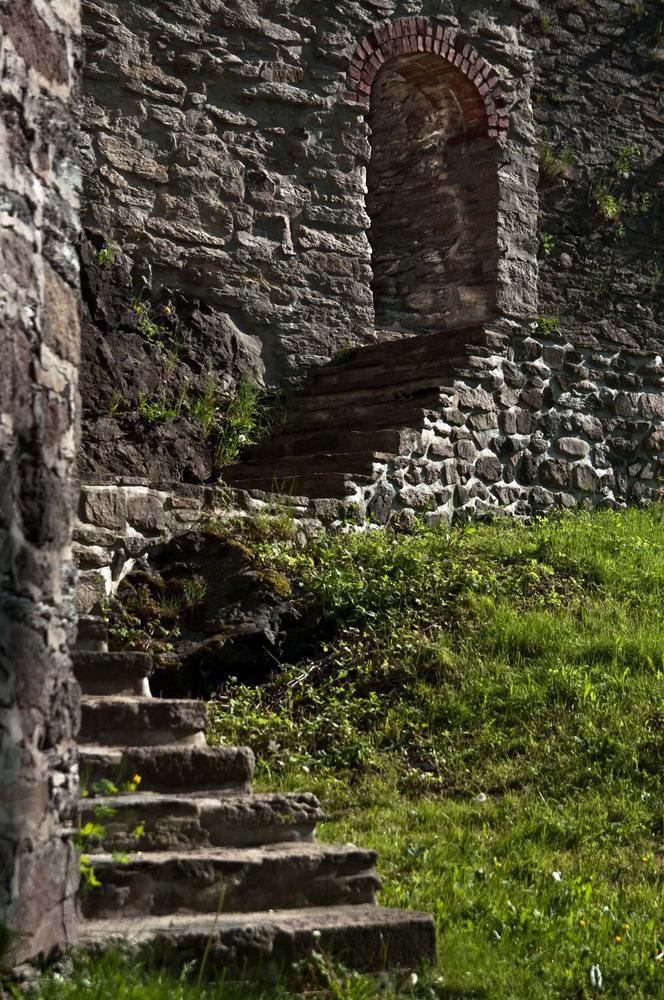 Der Weg nach oben... (ideal)