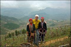 Der Weg zu den Menschen in den Bergen Vietnams