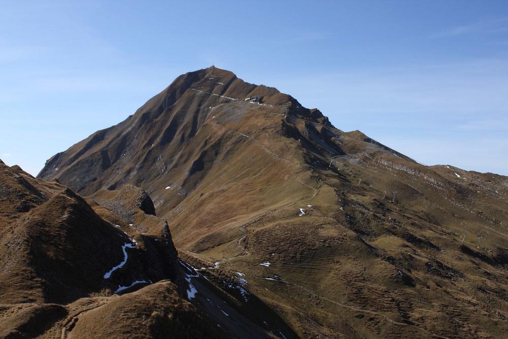 der Weg zum Brienzer Rothorn