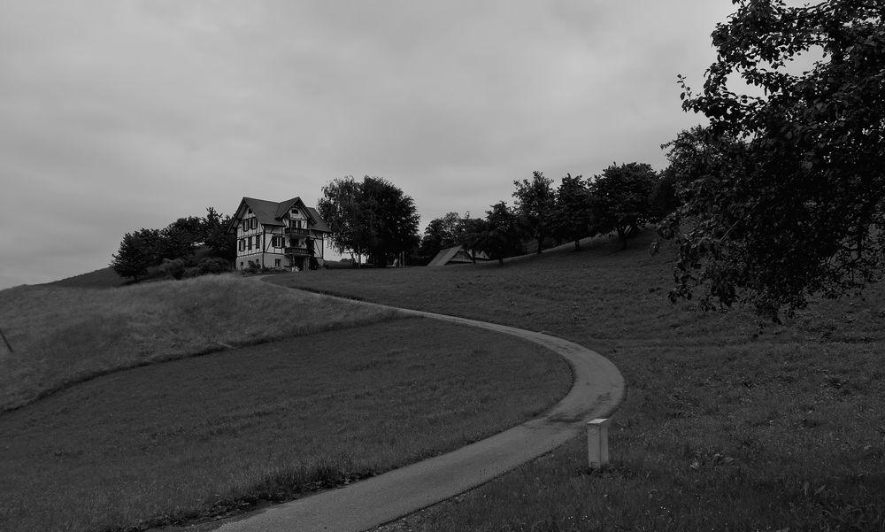 Der Weg zum Haus