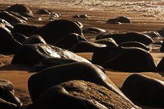 der Weg zum Meer ist steinig