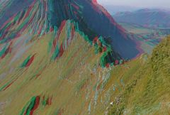 Der Weg zum Mesmer und Säntis - Berge in 3D