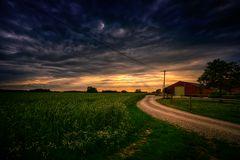 Der Weg zum Nachbarn.....