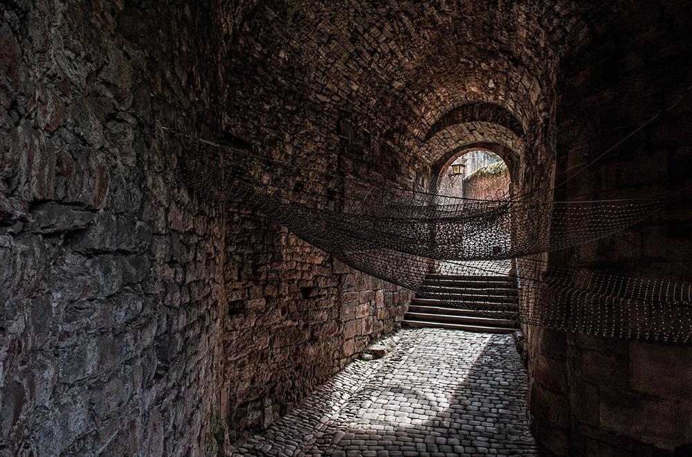 der Weg zum Schloss