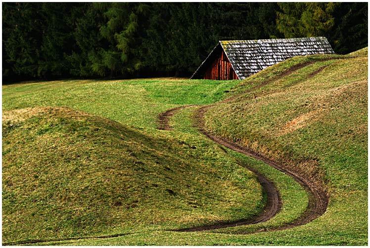 Der Weg zur Hütte