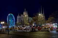 Der Weihnachtsmarkt in Erfurt